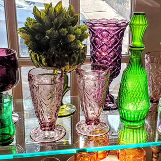 Over 500 Colored Goblets