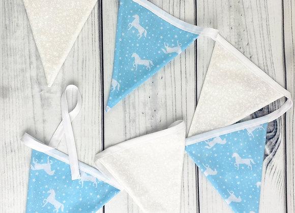 Unicorn Fabric Bunting