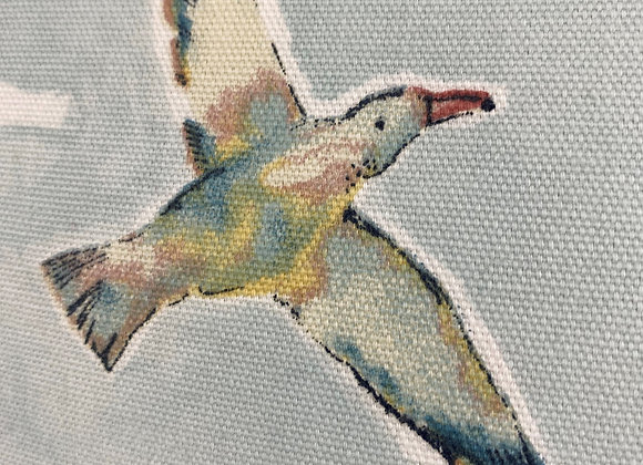 Birds Fabric Cushion Cover