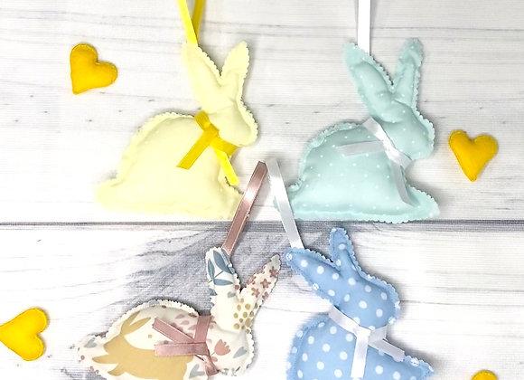 Easter Fabric Bunnies