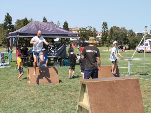 Australia day parkour event!
