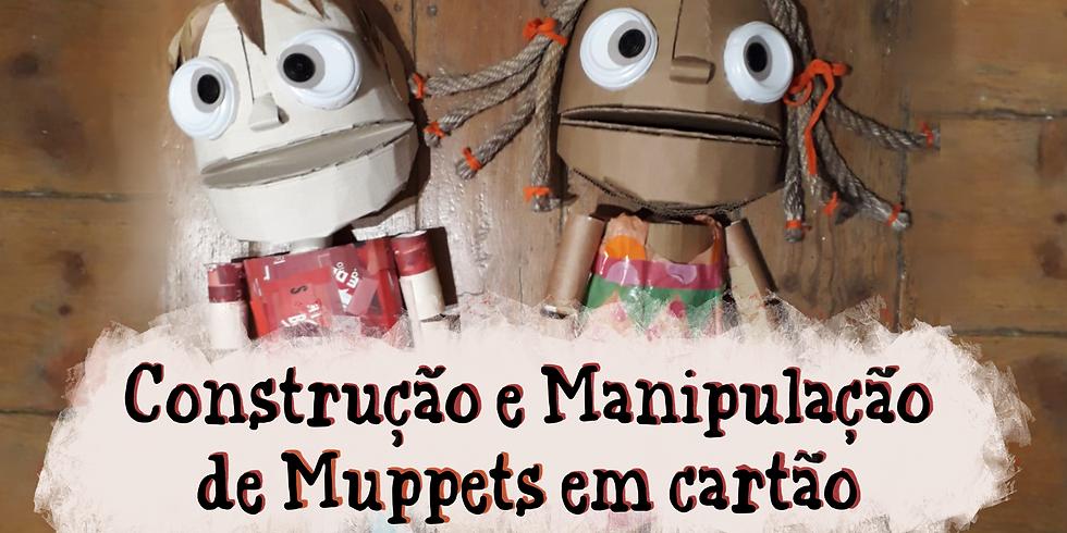 Workshop Muppets de Cartão