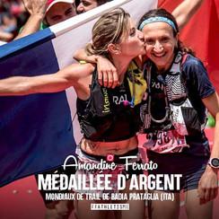 Championnat du Monde de Trail  - Médaille d'argent