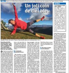 Interview Amandine Ferrato - Dauphiné Libéré