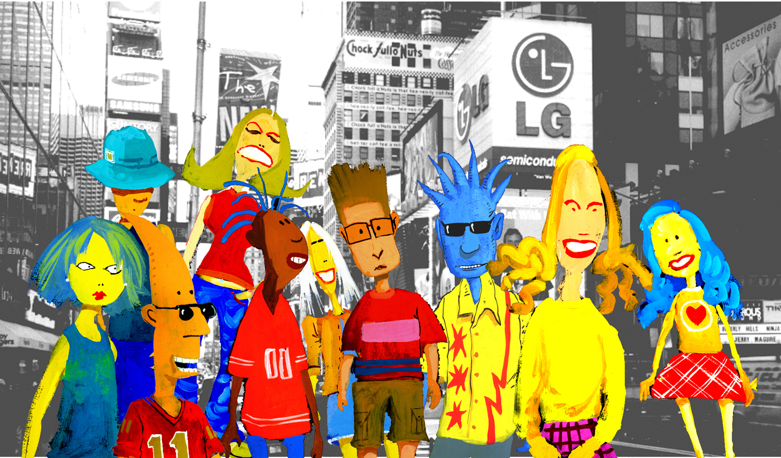 Characters for Jerolemon Street