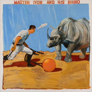 Master Ivor and His Rhino
