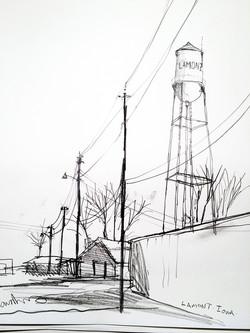 lamont water tower