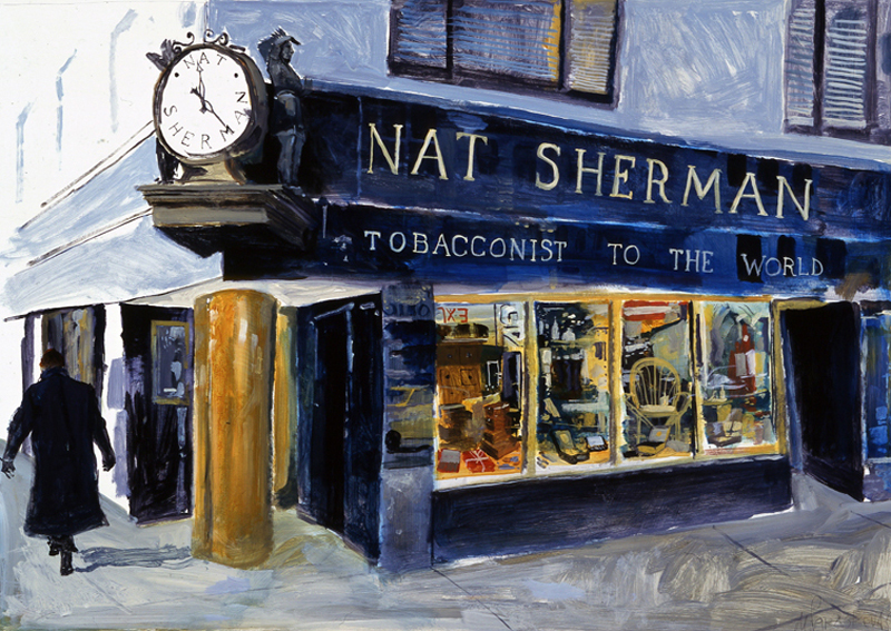 The Old Nat Sherman Store