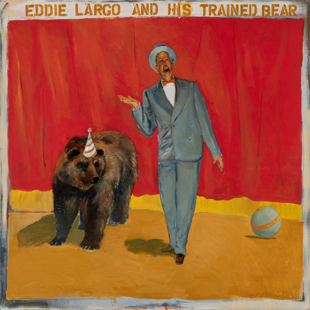 Eddie Largo and His Trained Bear