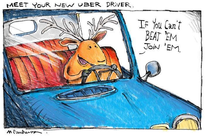 UberDeercartoonbyMickeyParaskevas