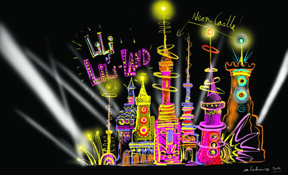castle of neon
