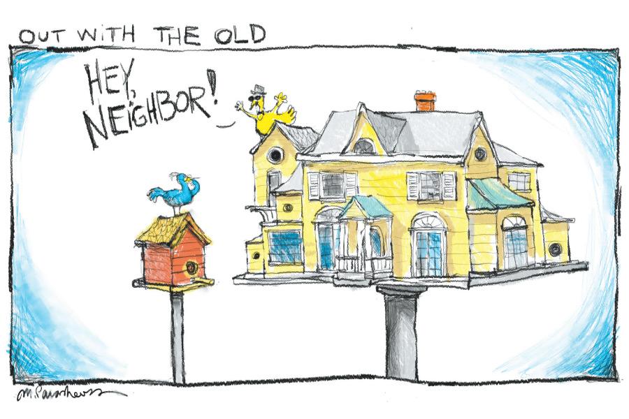 BirdhouseCartoonByMickeyParaskevas
