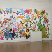 The big Mural and the Sketchbook film