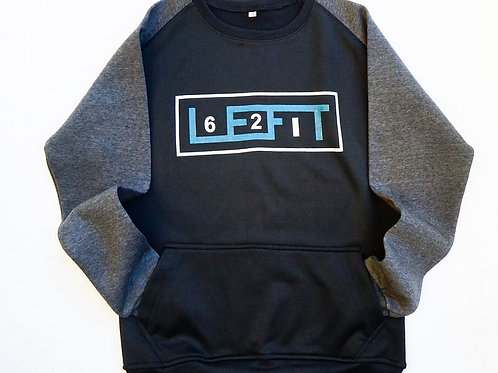 621 LEFIT Crew Neck Sweat Shirt w/front pocket