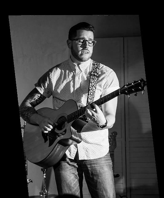 Michael Carleo and guitar