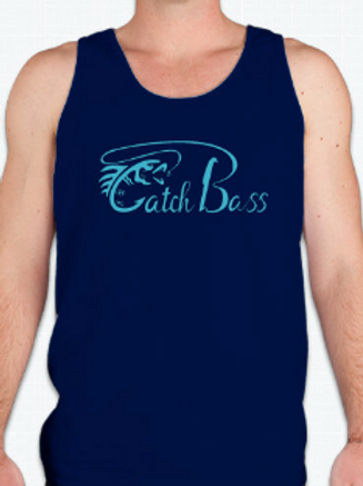 Mens Summer Tank Navy