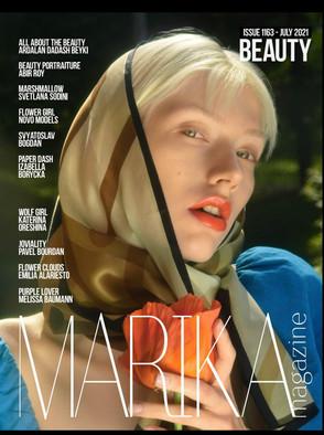 Marika Magazine kansikuva