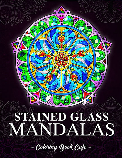 Stained-Glass Mandalas