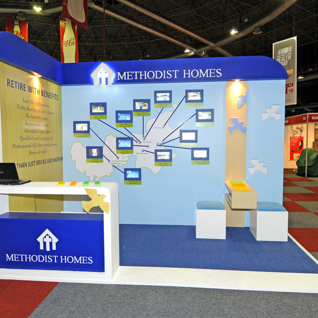 Methodist Homes at Retirement Expo, 8sqm