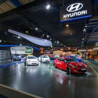 Hyundai stand at Joburg Motor Show 2018