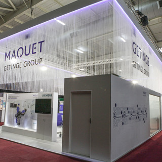 Maquet at Africa Health, 150sqm Custom Stand