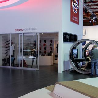 Nissan exhibition stand Johannesburg International Motor Show