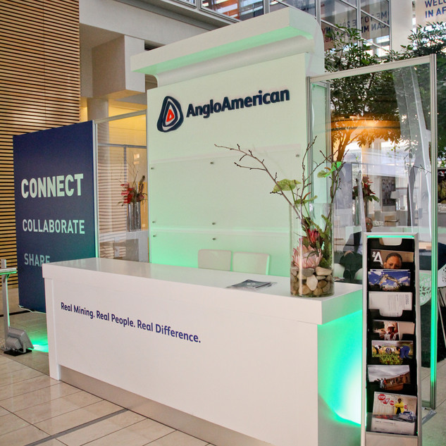 Anglo American Networking Lounge