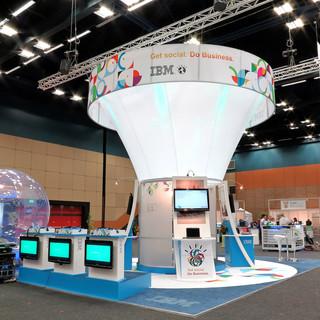 IBM at Govtech, 63sqm Custom Stand