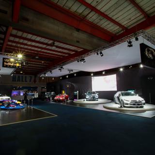 Infiniti stand at Joburg Motor Show