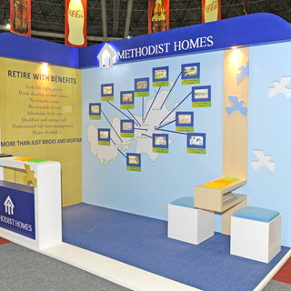 Methodist Homes at Retirement Expo, 8sqm