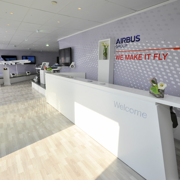 Airbus Chalet Reception