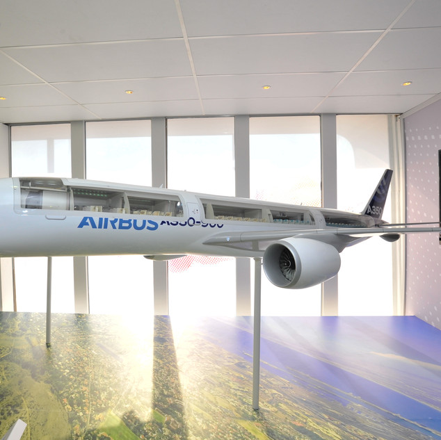 Airbus Chalet at AAD,  300sqm custom fitted stand