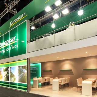 Europcar at Tourism Indaba, 45sqm, Double Sided