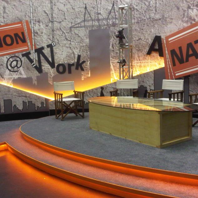 A Nation at Work Studio Set