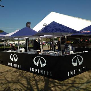 Infiniti at Top Gear Festival
