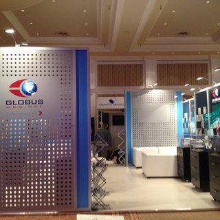 Globus Medical at Spine Congress, 36sqm