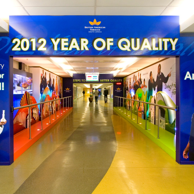 British American Tobacco Year of Quality Activation