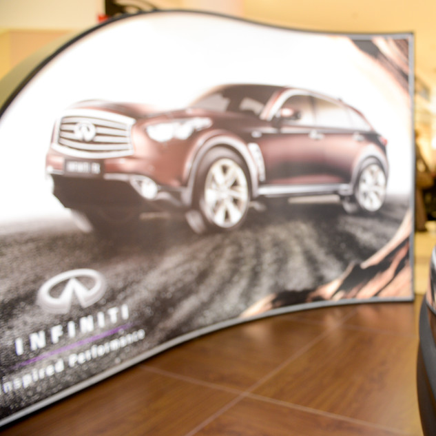 Infiniti National Mall Display Road Show