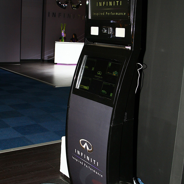 Infiniti exhibition stand Johannesburg International Motor Show