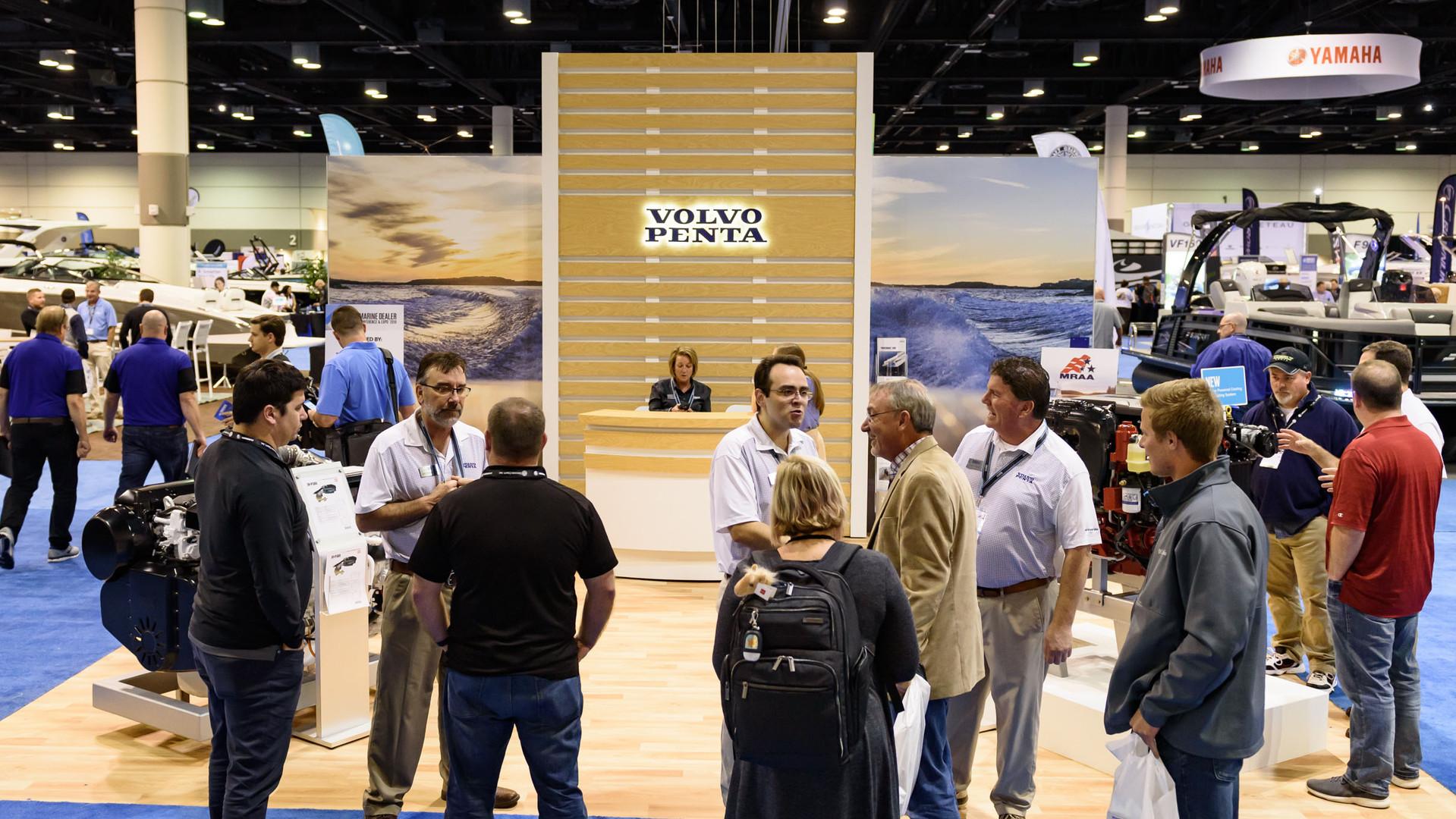 Volvo exhibiting in 2018