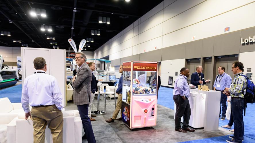 Wells Fargo exhibiting in 2018.