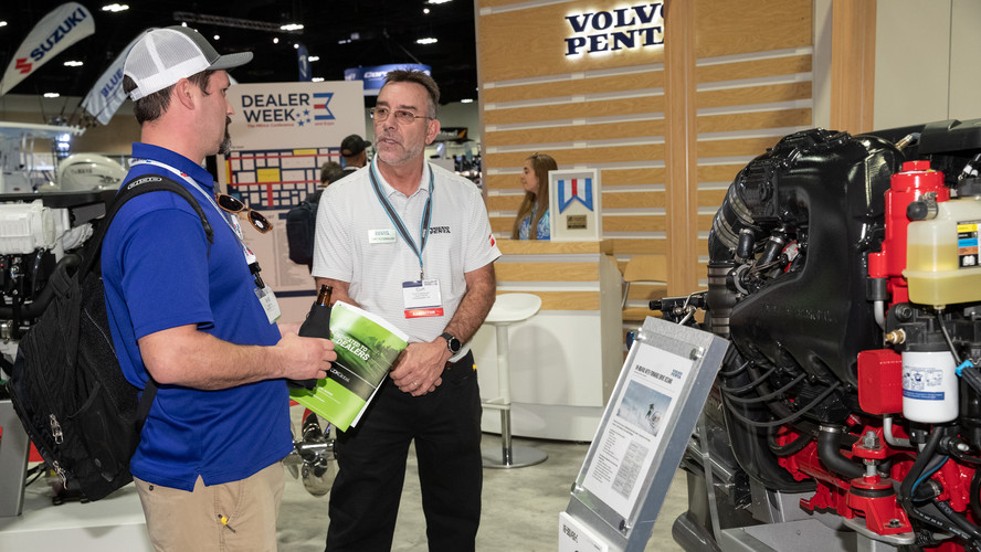 Volvo Penta at Dealer Week 2019.