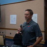 Matt preparing the group for brainstorming at the Dealer Week strategy session.