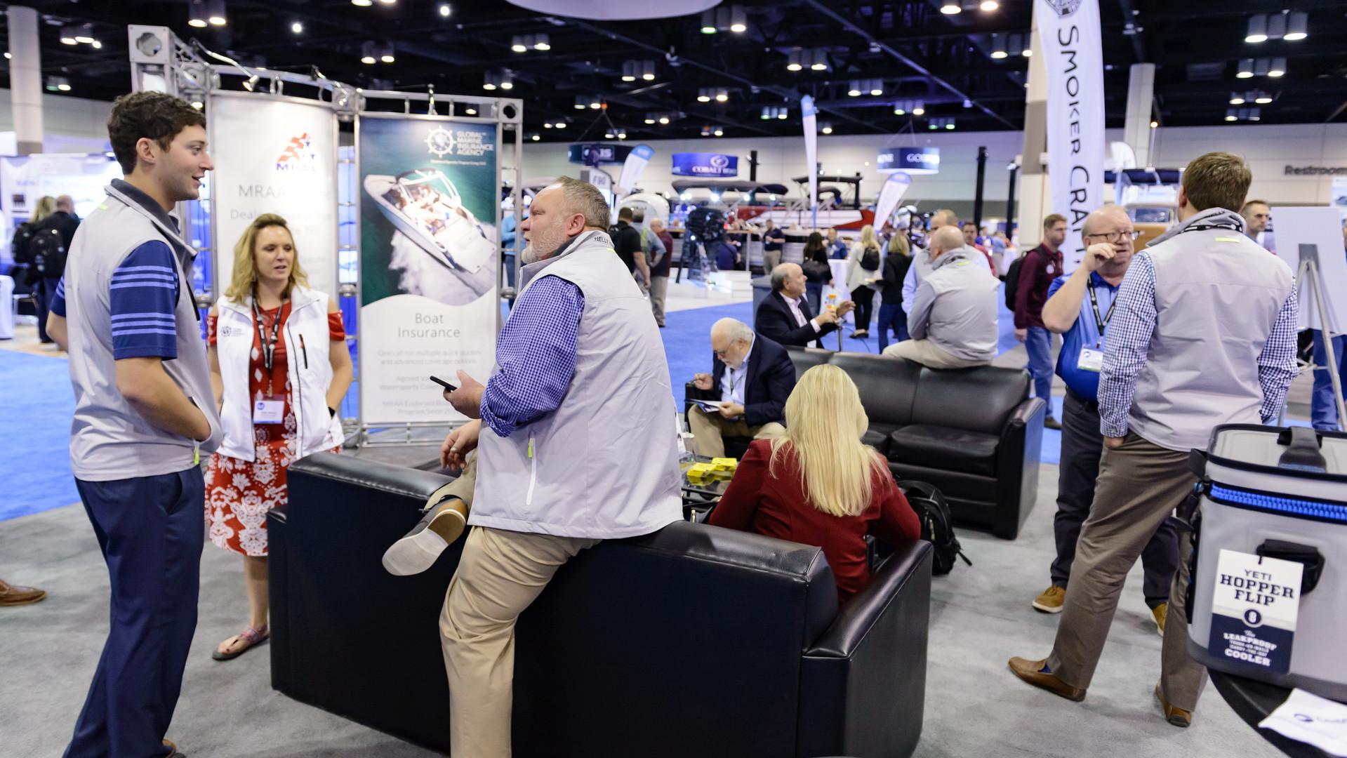 Global Marine Insurance exhibiting in 2018.