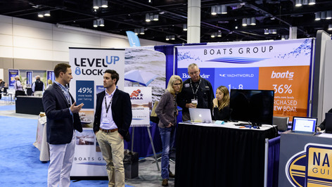 Boats Group exhibiting in 2018.