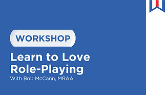 Workshop at Dealer Week Online called Learn to Love Role-Playing
