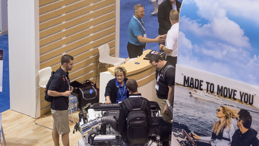 Volvo Penta exhibiting in 2017