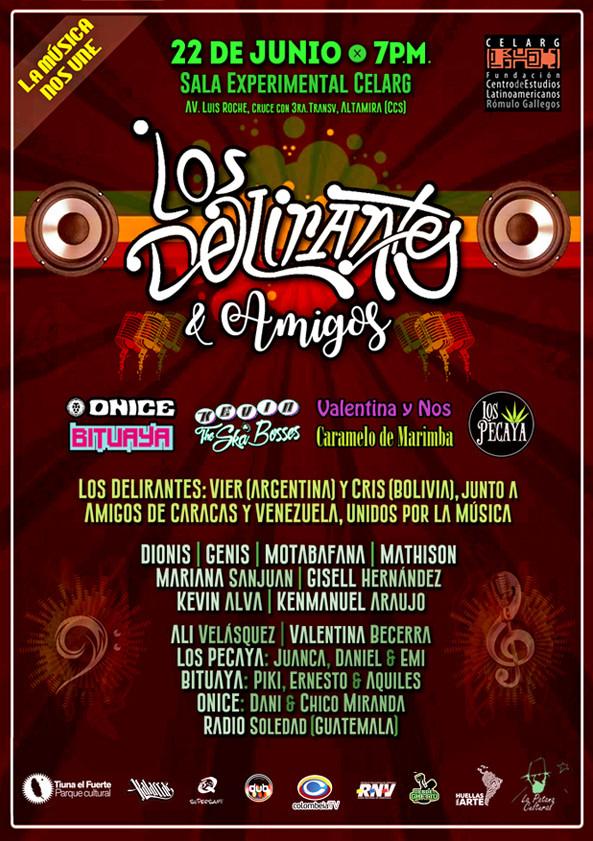 6_22 Los Delirantes y Amigos _ Junio_201