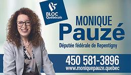 Carte Monique Pauze téléphone et site 20