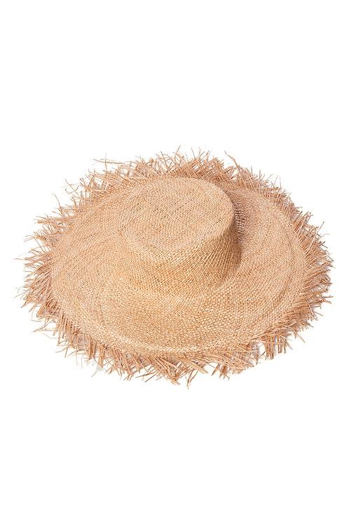 Шляпа с бахромой